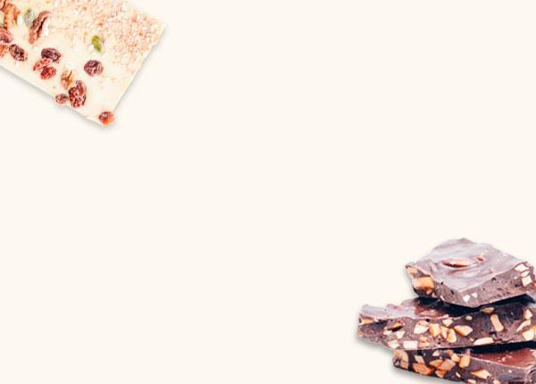 Tabletten & chocolade brokken